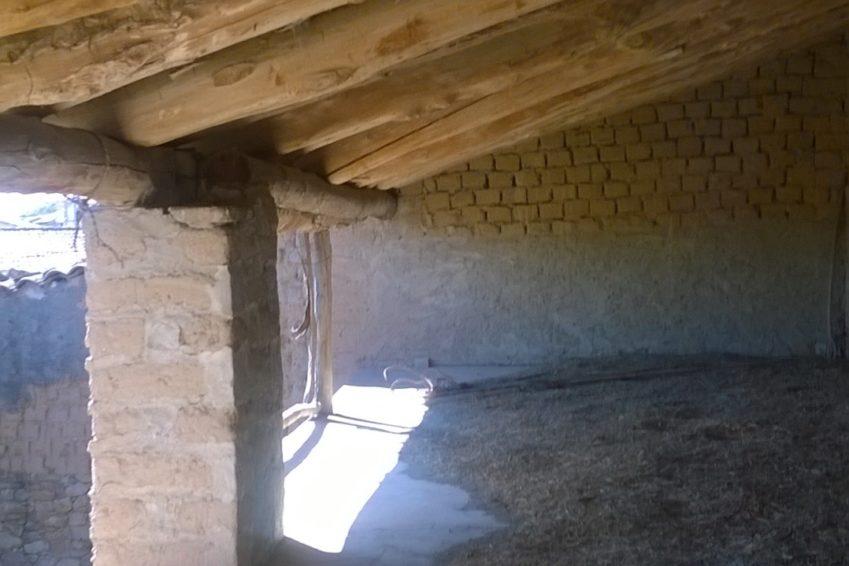Interior Maderos Tejado Principal