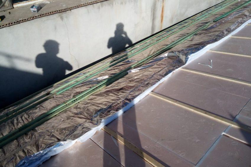 Aislamiento tejado