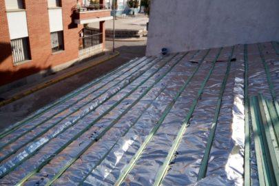 Aislamiento tejado 2